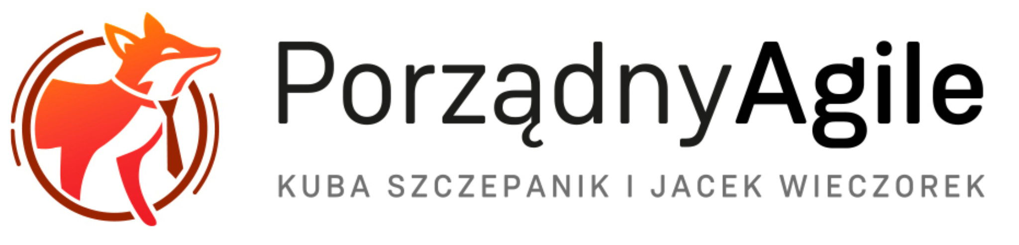 "Logo for Podcast ""Porządny Agile"""