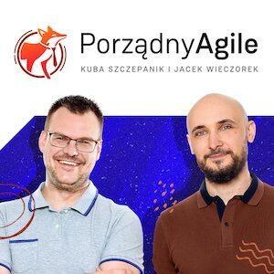 """Okładka podcastu """"Porządny Agile"""" na stronę WWW"""